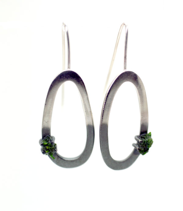 Moss Earrings Large Drop