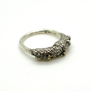 Untamed Ring Style Three With Gold