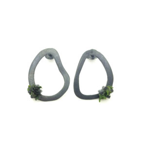 Moss Earrings Medium Stud