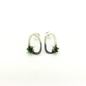 Moss Earrings Small Stud
