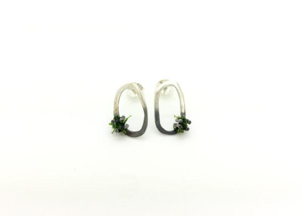 Moss Earrings Small Stud